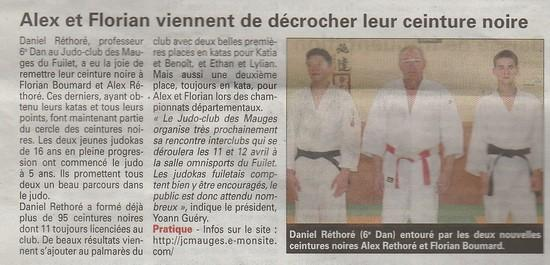 Article del'Echo d'Ancenis du 2 avril 2015